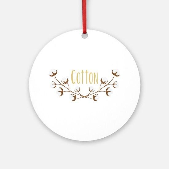 Cotton Limbs Round Ornament