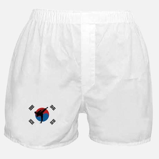 Taekwondo Flag Boxer Shorts