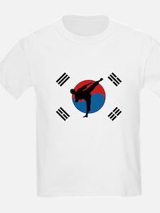 Taekwondo Flag T-Shirt