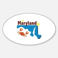 State Of Maryland Decal