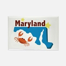 State Of Maryland Magnets
