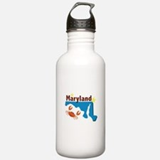 State Of Maryland Water Bottle
