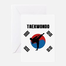 Taekwondo Greeting Cards