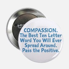 "COMPASSION 2.25"" Button (10 pack)"
