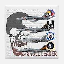 Skull Special Tile Coaster