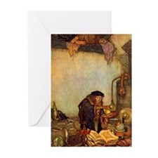 Dulac Alchemist Greeting Cards (Pk of 20)