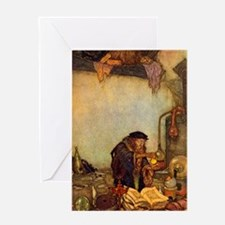 Dulac Alchemist Greeting Card