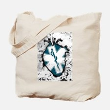 star of life anatomical heart Tote Bag