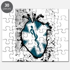 star of life anatomical heart Puzzle