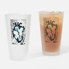 star of life anatomical heart Drinking Glass