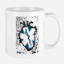 star of life anatomical heart Mugs