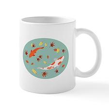 Japanese Koi Pond Mugs