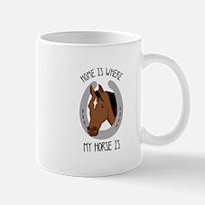 Horse Home Mugs
