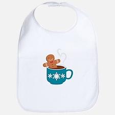 Gingerbread Hot Chocolate Bib
