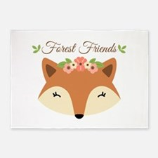 Forest Friends 5'x7'Area Rug