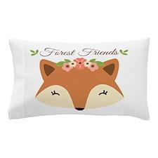 Forest Friends Pillow Case