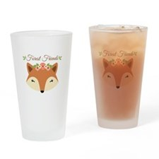 Forest Friends Drinking Glass