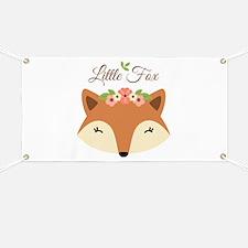 Little Fox Banner