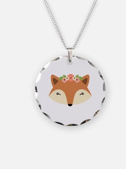 Fox Head Necklace