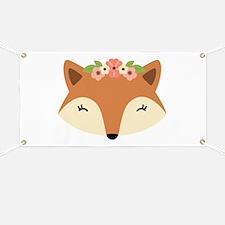 Fox Head Banner