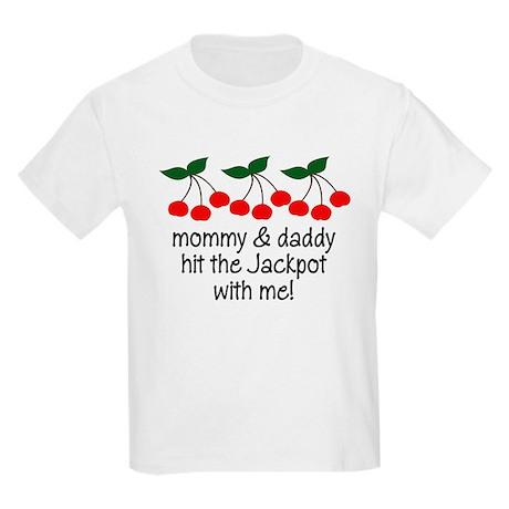 Hit The Jackpot Kids Light T-Shirt