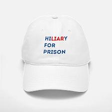 Hillary For Prison Baseball Baseball Cap
