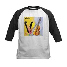V for Violin Tee