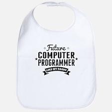 Future Computer Programmer Like My Daddy Bib