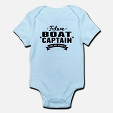 Future Boat Captain Like My Daddy Body Suit