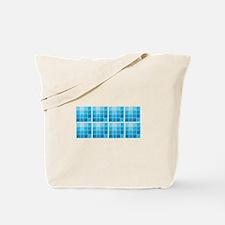 Blue Colors Tote Bag