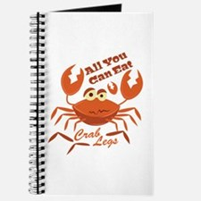 Crab Legs Journal