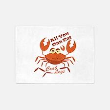Crab Legs 5'x7'Area Rug