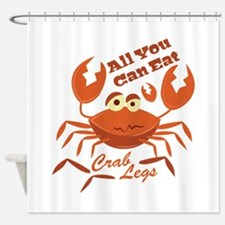 Crab Legs Shower Curtain