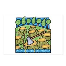 Save Our Forests Postcards (Package of 8)