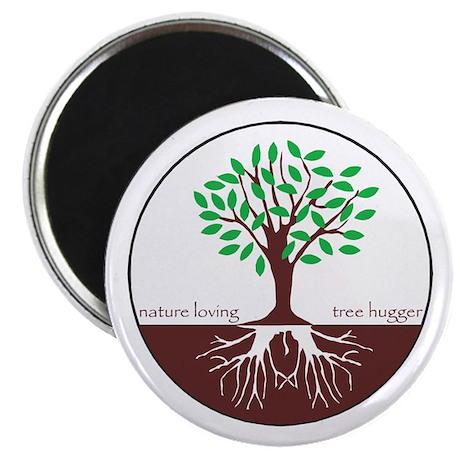 """Nature Loving Tree Hugger 2.25"""" Magnet (10 pack)"""