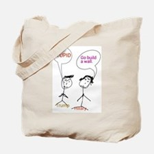 Trump and Hillary Tote Bag
