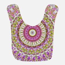 Pretty Hippy pink mandala Bib