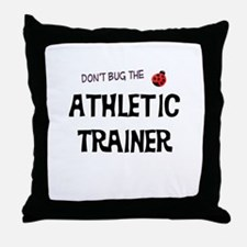 Athletic Trainer Throw Pillow