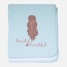 Braided & Beautiful baby blanket