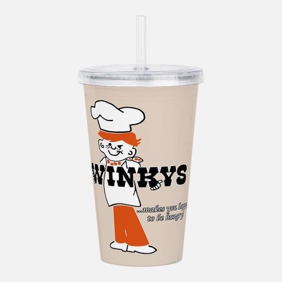 Winkys Hamburgers Logo Acrylic Double-wall Tumbler