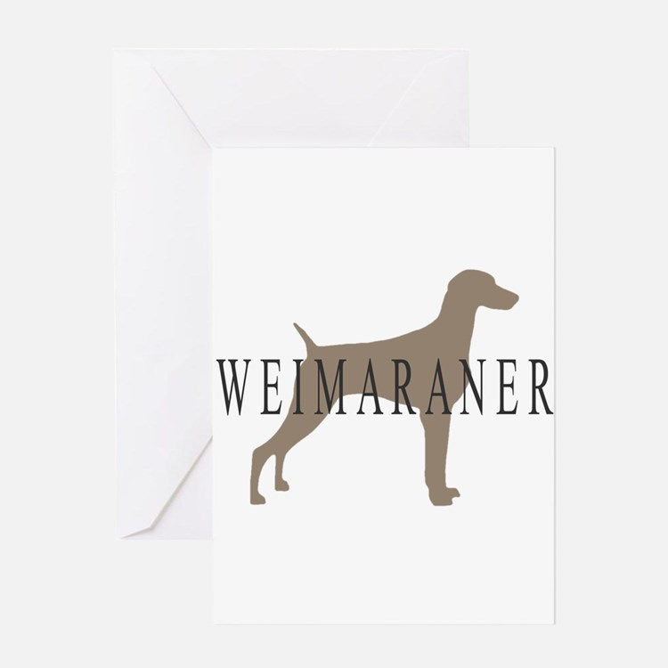 Cute Breed specific Greeting Card