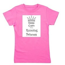Cute Keep calm and run zombies Girl's Tee