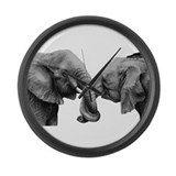 Elephant love Giant Clocks