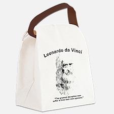 Leonardo Deception Canvas Lunch Bag