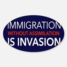 Imigration-Invasion Decal