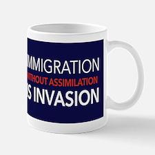 Imigration-Invasion Mugs