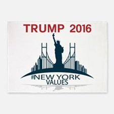 TRUMP New York Values 5'x7'Area Rug