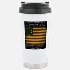 I Prefer Peace Travel Mug
