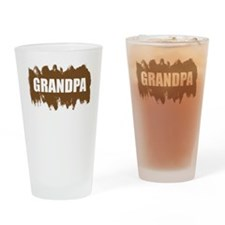 Cool Grandpa Drinking Glass