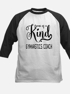 One of a Kind Gymnastics Coac Kids Baseball Jersey